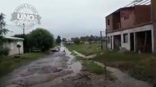 Calles como ríos: Vecinos quieren obras
