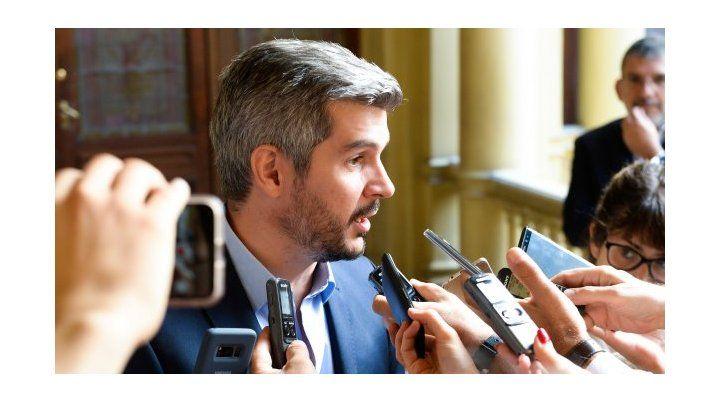 Marcos Peña ratificó el rumbo económico