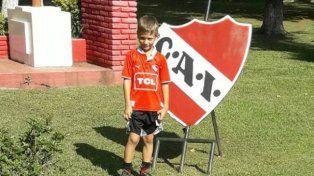 Un paranaense de ocho años jugará en Independiente
