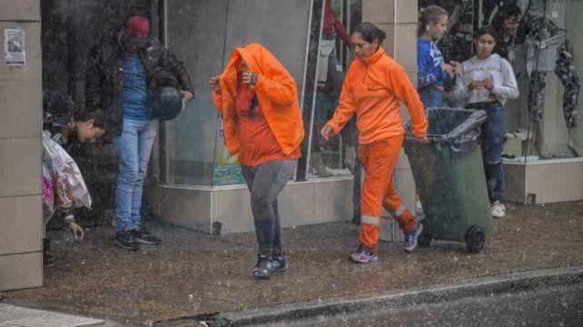 Alerta meteorológico a corto plazo para Entre Ríos por tormentas fuertes y posible caída de granizo