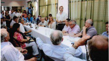 el sector peronista de cambiemos se reune el sabado en villaguay