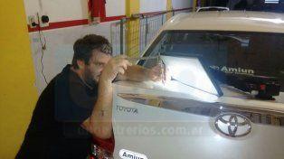Reparar un auto dañado por el granizo cuesta desde 7.000 pesos