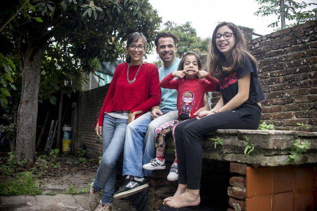 Cynthia, Ivo, Ámbar  y Cata.