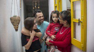Cata, Ivo, Ámbar y Cynthia contentos por formar parte de un movimiento que ya tiene su libro de relatos.