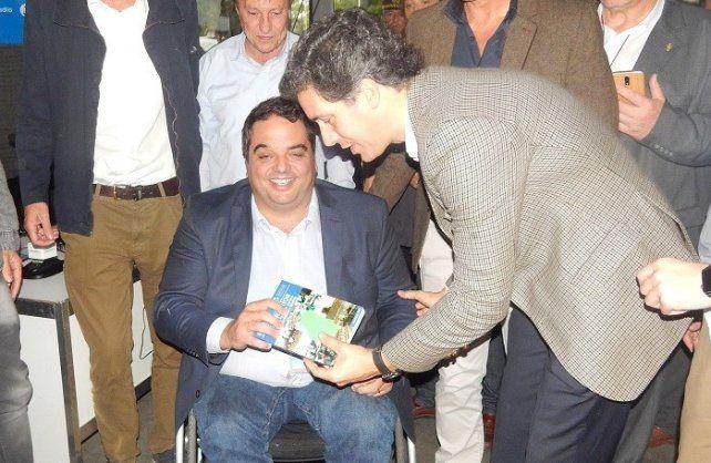 Autoridades del CEER y el ministro nacional tuvieron su encuentro en Paraná.