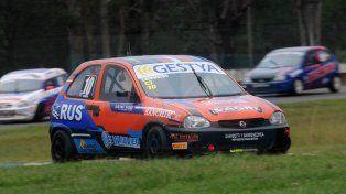 Mejora. El excampeón de Rally Argentino cerró su mejor producción de la temporada en el Turismo Pista.