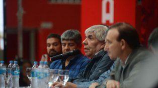 Moyano apuntó contra el Gobierno por sus causas: Si tuvieran algo ya estaríamos en cana