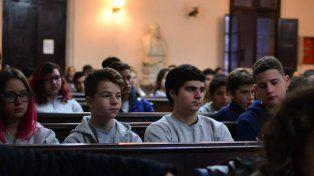 El gran objetivo es lograr el interés de los estudiantes secundarios. Foto @prender.