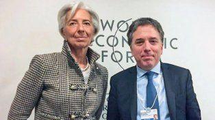 Nicolás Dujovne llegó a Washington para negociar el préstamo con el FMI