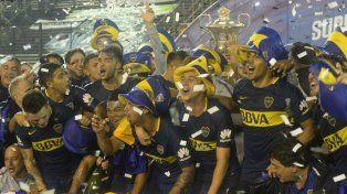 Boca se consagró campeón de la Superliga