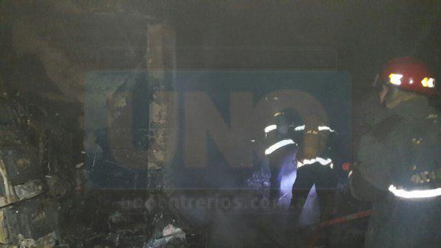 Paraná: Habrían incendiado intencionalmente una casa en calle Urquiza