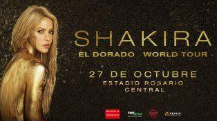 Shakira llega a Rosario con #ElDoradoWorldTour