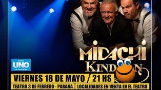 Estos son los ganadores de las entradas para el show de Midachi en Paraná