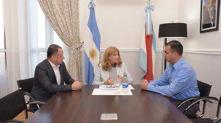 Nuevos tiempos. Romero le pidió a Sánchez (a la derecha)