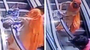 Nena murió al caer de escalera mientras sus papás se sacaban selfie