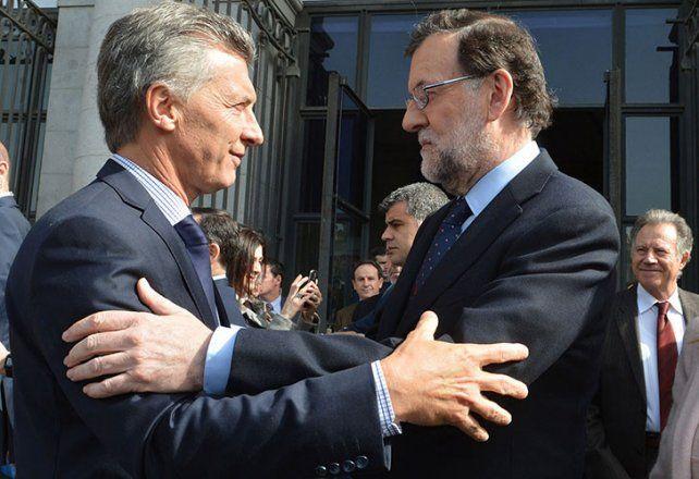 Presidentes. Rajoy y Macri