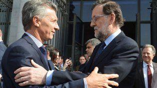 Presidentes. Rajoy y Macri, en abril en la visita del español, cuando mostraron muy buena sintonía.