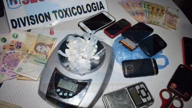 Narcomenudeo: Seis detenidos por venta de cocaína en Gualeguaychú