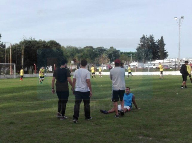 Para no perder el ritmo, Palermo y Oro Verde jugaron un amistoso