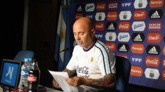 la lista de 35 jugadores de la seleccion argentina de jorge sampaoli