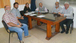 Preparativos. José Bantar encabezó el encuentro