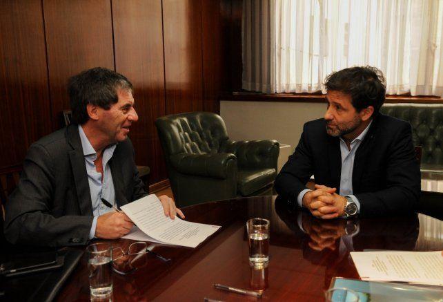 El subsecretario de Relaciones con Provincias