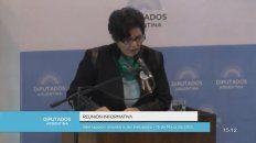 socorrista entrerriana expuso en el congreso a favor de la despenalizacion del aborto