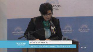 Socorrista entrerriana expuso en el Congreso a favor de la despenalización del aborto
