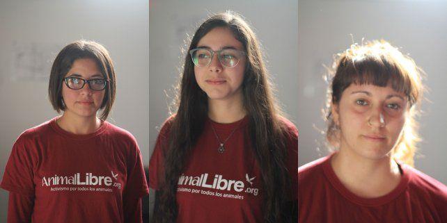 Eliana, Mariana y Yanina.