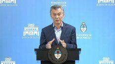 mauricio macri: tenemos que acelerar la reduccion del deficit fiscal