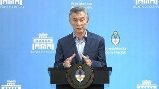 Mauricio Macri: Tenemos que acelerar la reducción del déficit fiscal