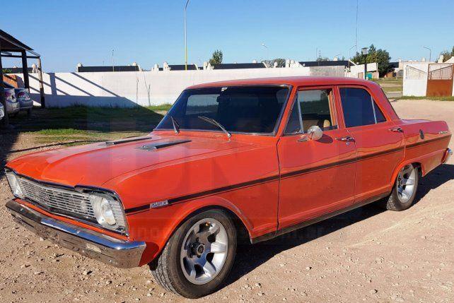 Antiguo y de competición. El vehículo bien cuidado fue vendido en 150.000 pesos.
