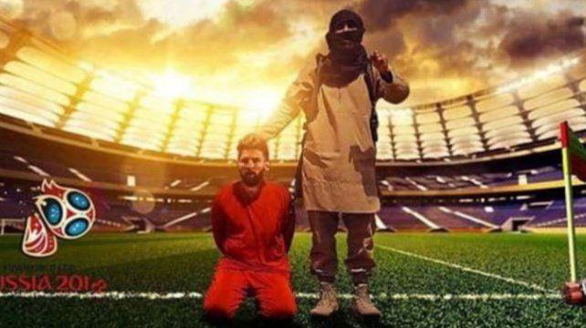 Amenazan decapitar a Messi y Ronaldo en pleno partido