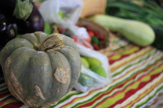 Las verduras que se consiguen en las ferias de Paraná.