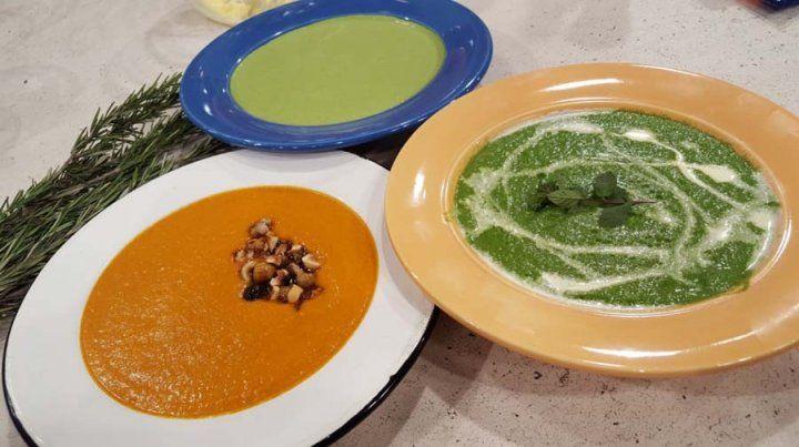 Recetas de sopas para comer, rico, sano y calentito