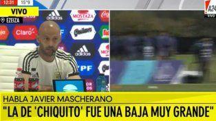 Mascherano habló de la baja de Romero y de su futuro
