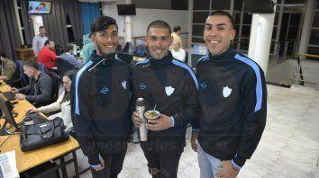 Los Retamoso: Jesús, Jorge y Octavio visitaron la redacción de UNO. FotoMateo Oviedo