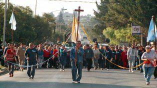 Edición. La procesión se iniciará a las 14 y llegará a las 16.30 a La Loma.