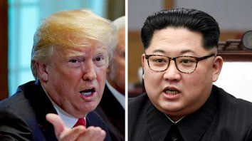 Cita. Kim y Trump iban a encontrarse el 12 de junio en Singapur.
