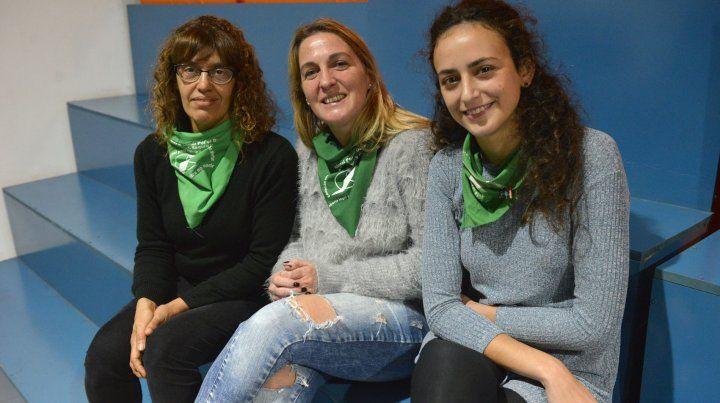 Lucy Grimalt,María Fernanda Vásquez Pinasco y Nadia Burgos fueron convocadas por UNO para hablar sobre el aborto en la Salud Pública.