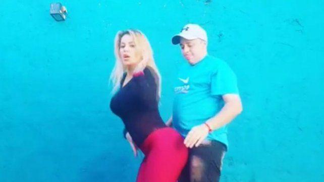 Mariana Diarco y El Dipy intentan captar la atención de Tinelli con este video