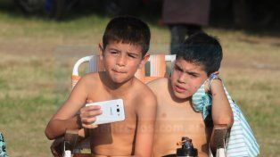 Jornada a puro sol y fútbol en el campeonato Millonario