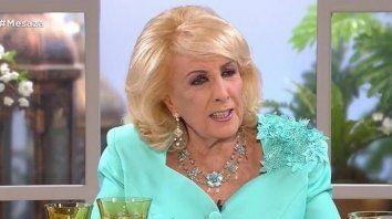 mirtha legrand volvio a hablar de su retiro de la tv