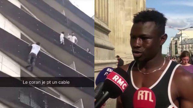 El Spiderman sin papeles, el nuevo héroe de Francia