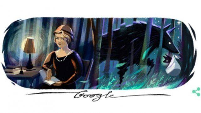 Alfonsina Storni, poetisa y mito, hoy es homenajeada en el doodle de Google