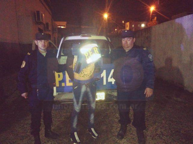 A la Alcaidía. El acusado de las balaceras fue detenido este martes en el Maccarone.