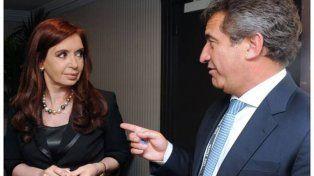 Urribarri. El exmandatario se reunió con Cristina en Buenos Aires.