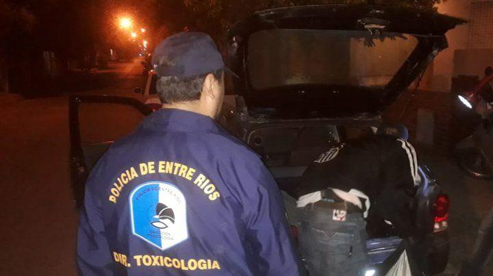 Dos detenidos y droga secuestrada en varios procedimientos