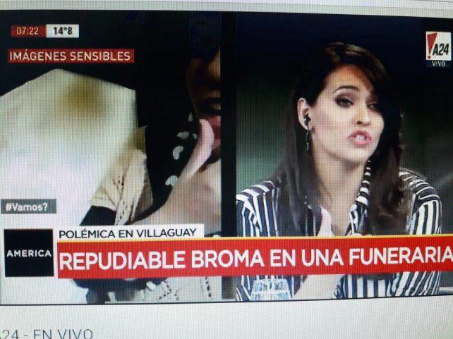 La chica del irrespetuoso video con un muerto en una funeraria, pidió disculpas públicas