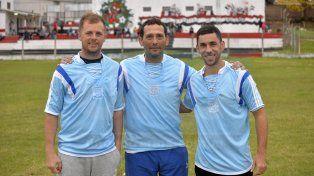 El cuerpo técnico del selectivo de la LPF: Diego Jacob